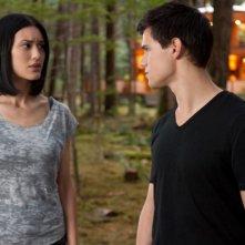 Julia Jones e Booboo Stewart in una scena di The Twilight Saga: Breaking Dawn - Parte I