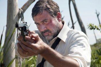 Texas Killing Fields: Jeffrey Dean Morgan in una immagine del thriller