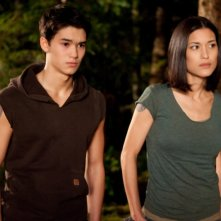 The Twilight Saga: Breaking Dawn - Parte I, Booboo Stewart e Julia Jones in un'immagine del film