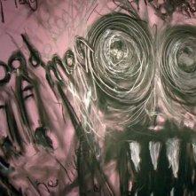 I fantasmi di Bedlam, prima stagione, episodio Hide and Seek: disegni inquietanti su una parete...