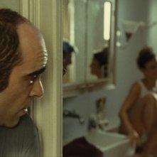 Mientras Duermas: Luis Tosar in una scena del film di Balaguerò