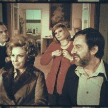 Alessandro Sperlì, Anny degli Uberti, Lelio Luttazzi e Anna Saia in una scena de L'illazione