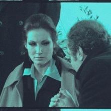 Annabella Incontrera e Alessandro Sperlì in una scena del film del 1972 L'illazione, di Lelio Luttazzi