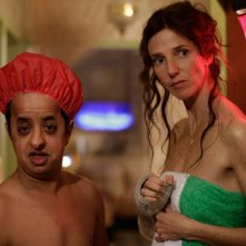 Beur sur la ville: Booder e Sandrine Kiberlain in una scena del film