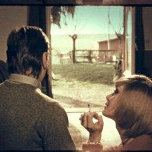 Mario Valdemarin e Anna Saia in una scena de L'illazione