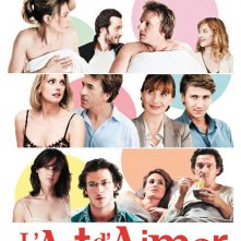 The Art of Love (L'art d'aimer): locandina francese