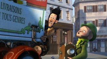 Un monstre à Paris: una scena del film d'animazione