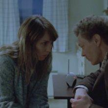 Babycall: Noomi Rapace è Anna in una scena del film con Kristoffer Joner