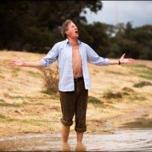 Geoffrey Rush nei panni di Basil Hunter in The eye of the storm di Fred Schepisi