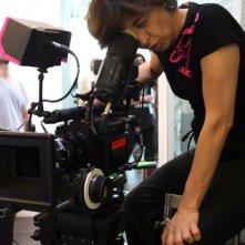 Il mio domani: la regista del film Marina Spada sul set