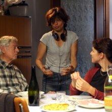 Il mio domani: Raffaele Pisu, Marina Spada e Claudia Gerini sul set del film