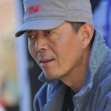 Il regista Gu Changwei sul set del suo film Love for life
