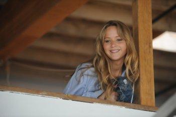 Jennifer Lawrence in una scena del film Like Crazy