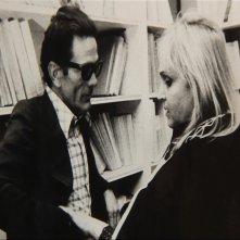 Laura Betti e Pier Paolo Pasolini in una scena tratta dal documentario La passione di Laura di Paolo Petrucci