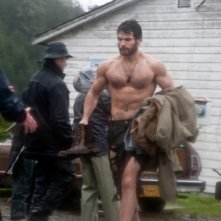 Look alternativo per Henry Cavill sul set di Superman: Man of Steel