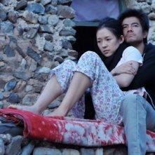 Love for life: Zhang Ziyi e Aaron Kwok in una romantica scena del film