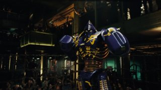 Real Steel uno dei robot protagonisti del film