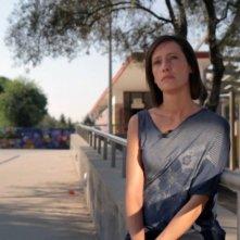 Un'immagine di Ilaria Cucchi tratta dal documentario 148 Stefano. Mostri dell'inerzia