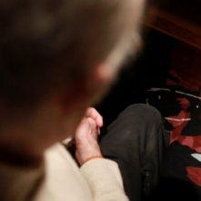 Una suggestiva inquadratura di Franco Califano in una scena del documentario Noi di settembre