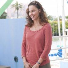 Ashley Judd protagonista de L'incredibile storia di Winter il delfino in una scena del film