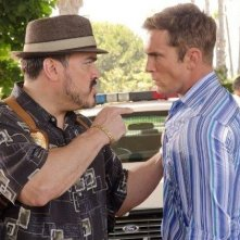 David Zayas insieme a Desmond Harrington nell'episodio Smokey and the Bandit