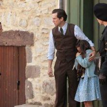 La nouvelle guerre des boutons: Guillame Canet in una scena del film