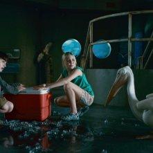 Nathan Gamble e Cozi Zuehlsdorff in una bellissima scena de L'incredibile storia di Winter il delfino