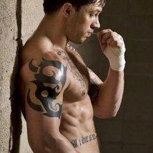 Tom Hardy, aitante protagonista del film Warrior