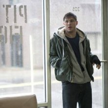 Tom Hardy in un'immagine tratta dal film Warrior