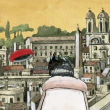 Tormenti - Film disegnato, una delle scene scritte e disegnate da Furio Scarpelli