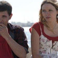 Christa Theret e Johan Libéreau in una scena del film drammatico La brindille
