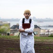 David: il giovane protagonista Muatasem Mishal in una bella immagine tratta dal film