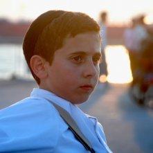 David, il piccolo Muatasem Mishal in una suggestiva immagine tratta dal film