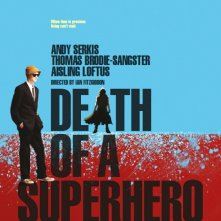 Death of a superhero, la locandina del film