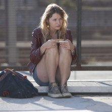 La brindille, Christa Theret con lo sguardo triste in una scena del film
