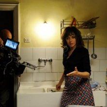 La kryptonite nella borsa: Valeria Golino sul set del film