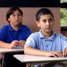 Muatasem Mishal in classe in una scena del film drammatico David