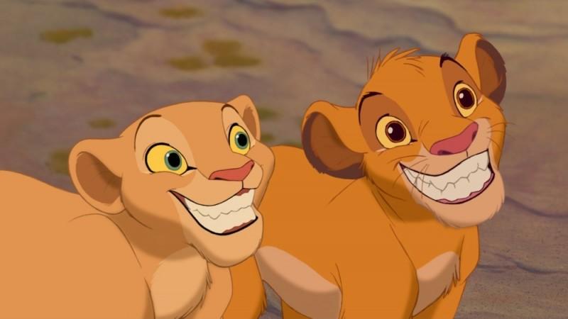 Nala E Simba Sorridono A Denti Stretti In Una Scena Del Film Il Re Leone 3D 219338