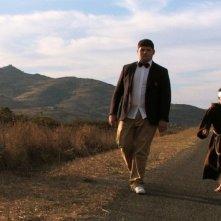 Sagràscia: Daniele Marrosu e Giuseppe Mezzettieri in una scena del film