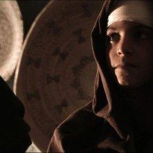 Sagràscia: il piccolo protagonista del film Giuseppe Mezzettieri in una scena