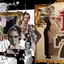 The british guide to showing off, un collage di ritratti dell'artista Andrew Logan protagonista del documentario