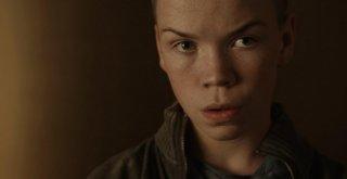 Will Poulter in una scena del film Wild Bill