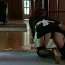 American Horror Story (ep. Murder House, prima stagione): Alexandra Breckenridge cerca di sedurre il suo titolare