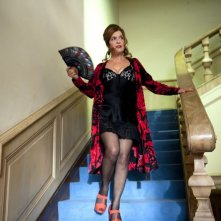 Elisabetta De Palo in una scena del film I soliti idioti