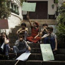 I giovani protagonisti in una scena del film En el nombre de la hija