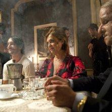 Marco Foschi, Elisabetta De Palo e Francesco Mandelli in una scena del film I soliti idioti