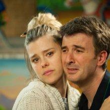 Sascha Zacharias e Valentino Picone in una scena del film Anche se è amore non si vede