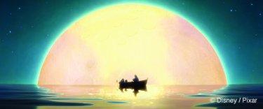 La luna: un'immagine suggestiva del corto di Enrico Casarosa