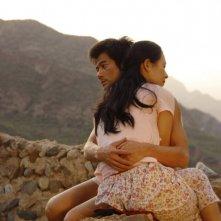 Love for life: Zhang Ziyi e Aaron Kwok persi in un intenso abbraccio in una scena del film