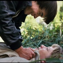Noordzee, Texas: Jelle Florizoone insieme a Mathias Vergels in una suggestiva immagine del film